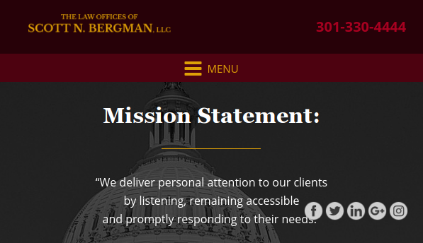 Scott N. Bergman debt collection attorney