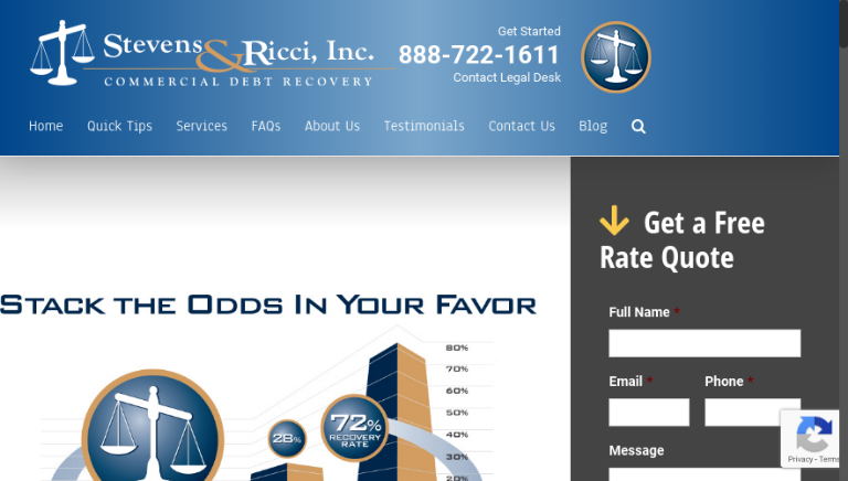 Stevens debt collection attorney